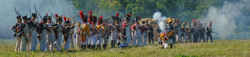 Битва русских с французами 1812