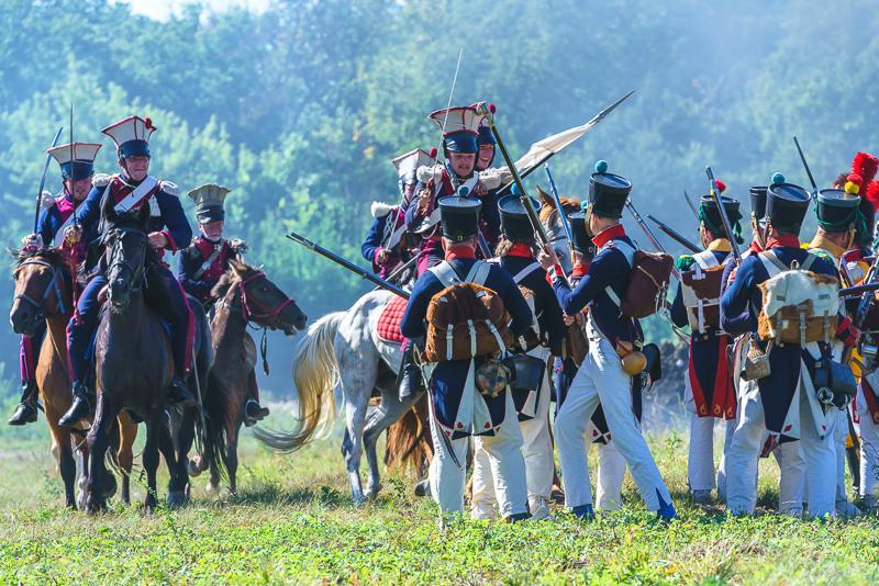 Сражение кавалерия