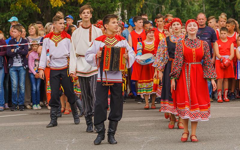 Раздолье Народный танец