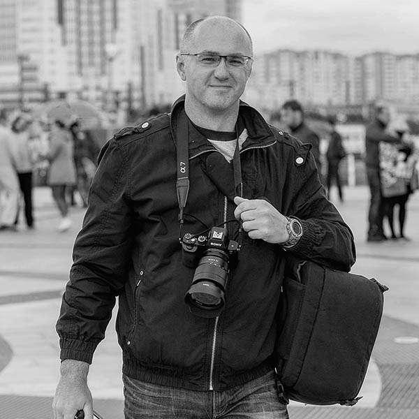 Фотограф Сергей Лазарев