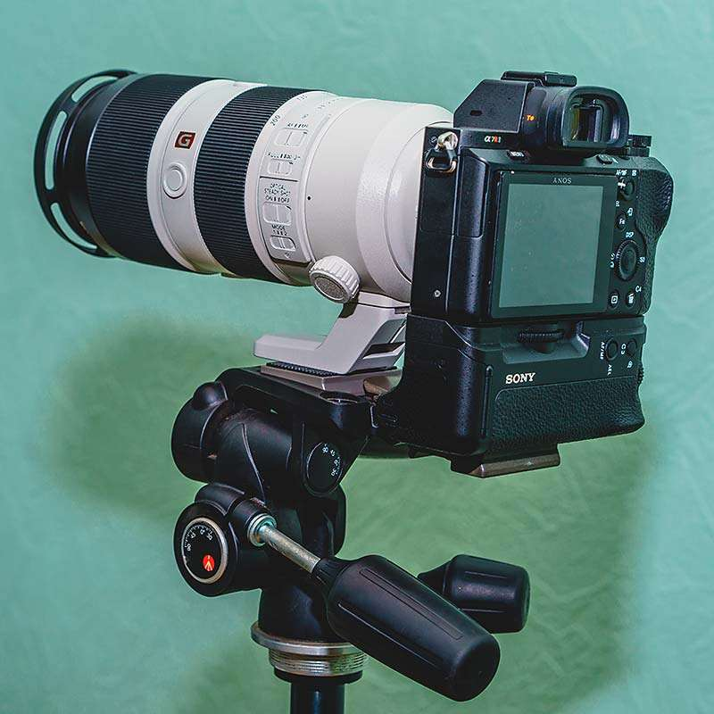 SEL 2.8/70200 G-Master, камера A7RII