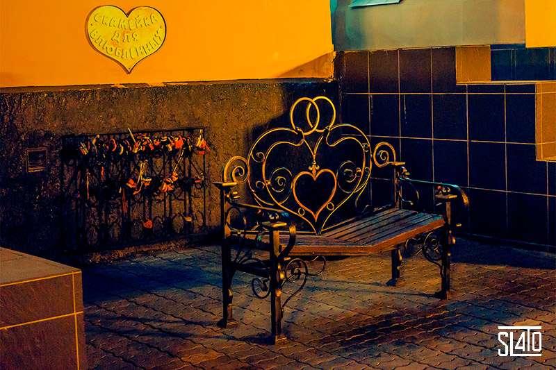 Кузнецк, вокзал, скамейка