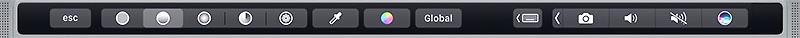 touchbar панель нового makbook pro 2017 года