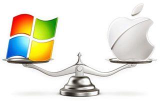 win mac apple сравнить выбрать весы OS