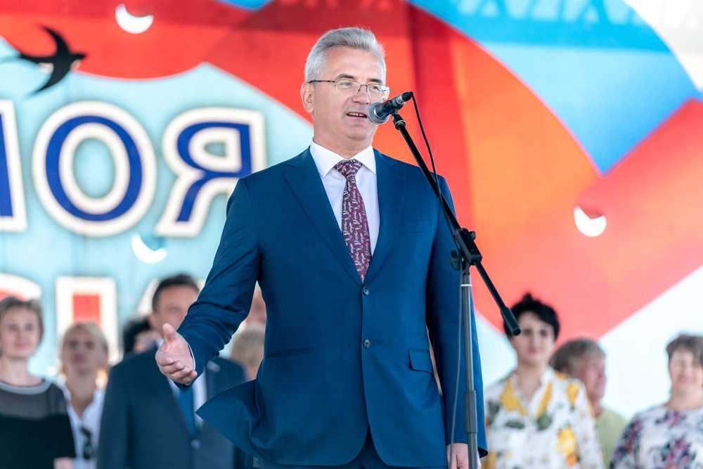 губернатор белозерцев Иван Пенза речь