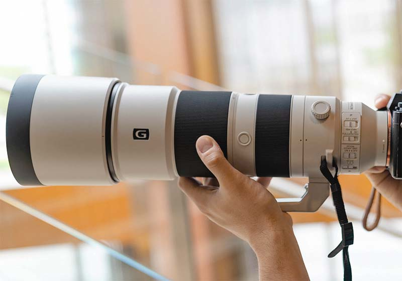 Объективы Sony FE 600 mm F4 GM OSS, G 200-600 мм F5.6-6.3​
