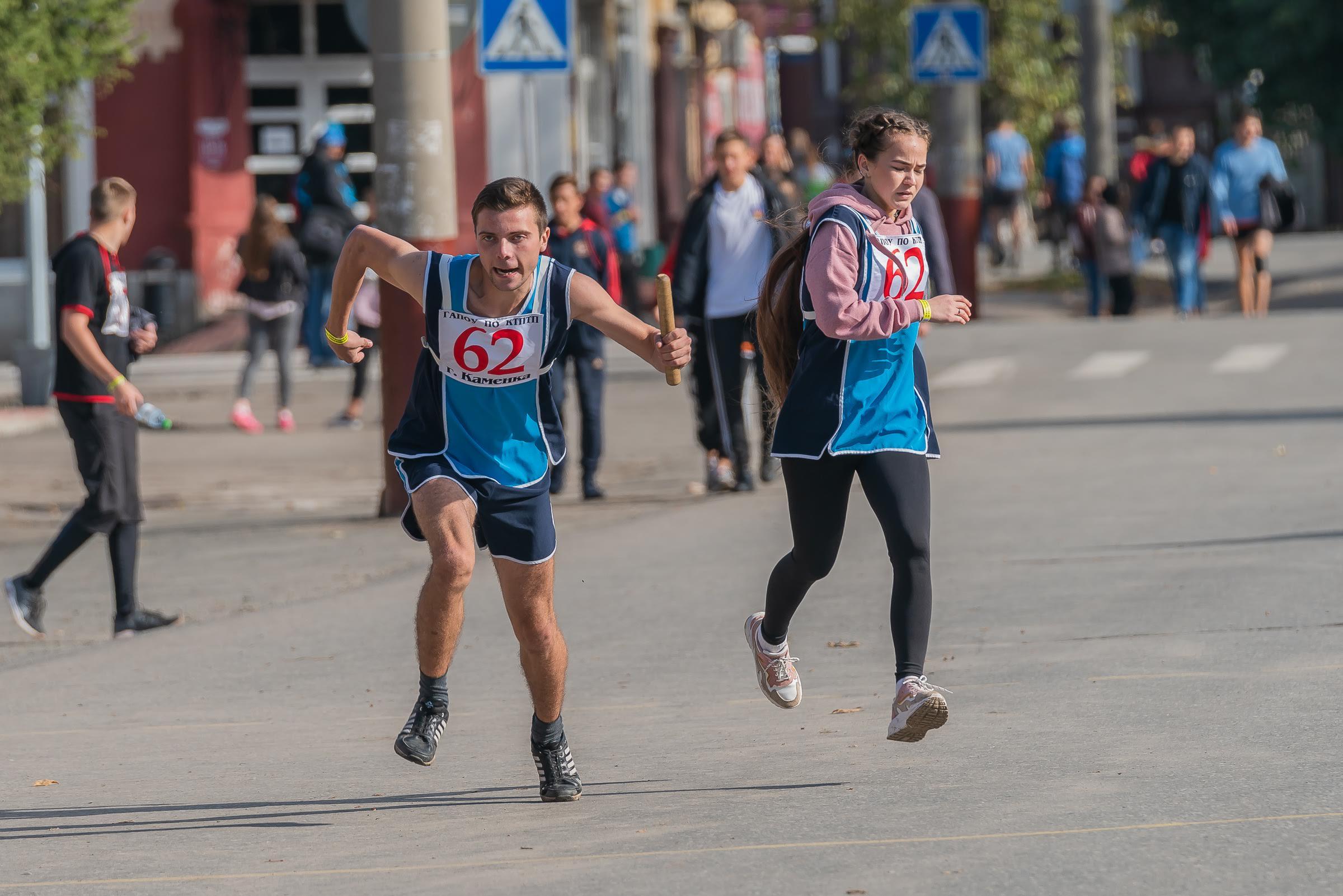 30-я юбилейная областная легкоатлетическая эстафета в г. Кузнецке